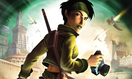 Jade, Beyond Good & Evil's leading lady