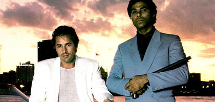 Crockett & Tubbs as the 80s Peaked