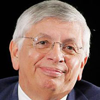 NBA king David Stern